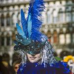 Venezia carnevale blu 1985